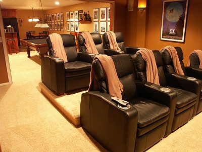 Contemporary Home Theater Design on Home Theater Furniture   Home Theater Furniture Design   Home Theater